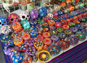 Colorful souvenirs