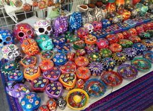 Colorful souvenirs